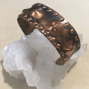 Women's Copper Cuff Bracelet
